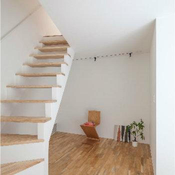 二階部分。こちらはリビングに※似た間取り別部屋の写真です