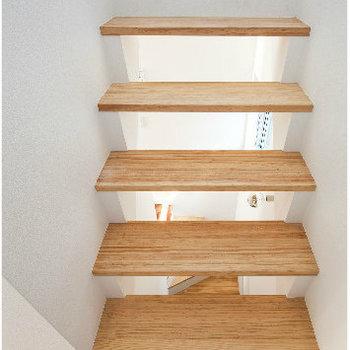 しっかりとした階段で、怖くないですよ※似た間取り別部屋の写真です