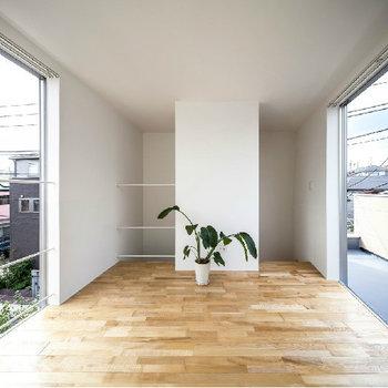 3階部分。開放感に溢れています※似た間取り別部屋の写真です