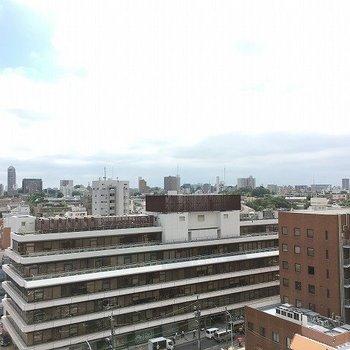 渋谷の喧騒から離れた眺望 ※8階反転間取りの別部屋の写真です