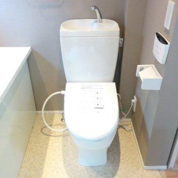 トイレはもちろんウォシュレット※前回募集時の写真です