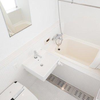 洗面台とお風呂も近くて使いやすそう!
