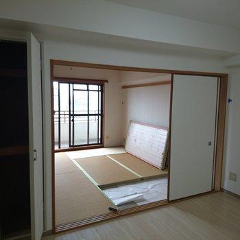畳はフローリングに!寝室になります!※写真は工事前