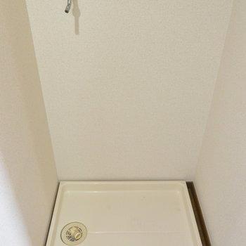 【工事前】洗濯機置き場は廊下に