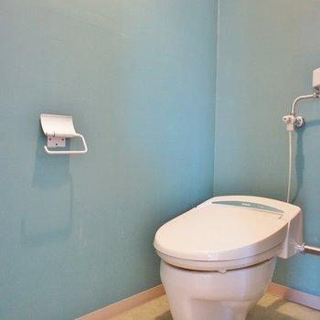レトロポップなトイレ