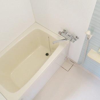浴室もきれいで清潔感があります!