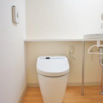 洗面トイレ同室です。※写真は前回撮影時のもの