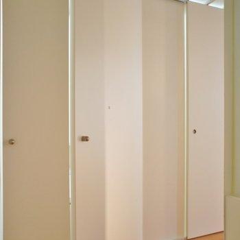お部屋の構造が少し特殊。※写真は前回撮影時のもの