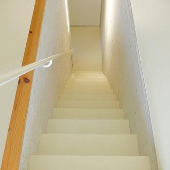 ここから下階へ。