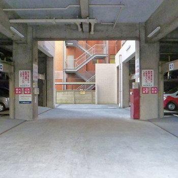 駐車場も♪
