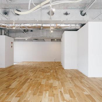 天井を抜いて、開放的な空間です!※前回募集時の写真です