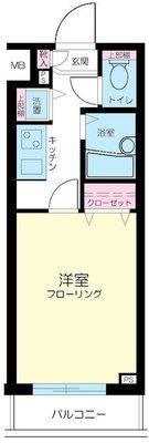 トーシンフェニックス新横濱イクシール の間取り