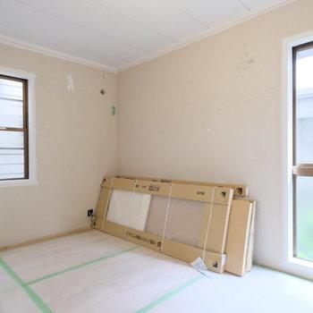【工事中】もともと和室だったお部屋も、洋室に!