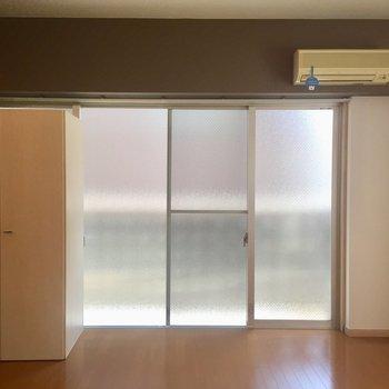 窓が大きい〜!なんと全部で3面採光。※写真は前回募集時のものです