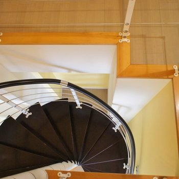 螺旋階段からの景色にもうっとり※写真は前回募集時のもの。