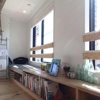 南側の窓辺がまた秀逸なのです。 ※4階の似た間取り別部屋の写真です