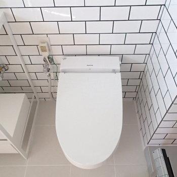 トイレはスッキリと。 ※4階の似た間取り別部屋の写真です