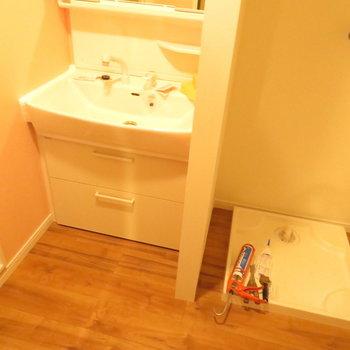 洗面脱衣所ですね