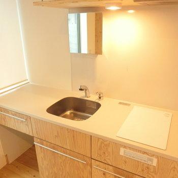 清潔感のあるキッチン※写真は前回募集時のものです
