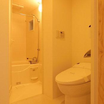 水まわりが。温水洗浄トイレ※写真は前回募集時のものです
