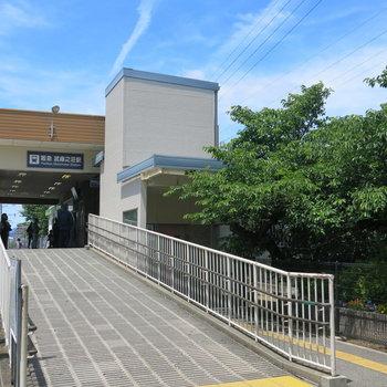 武庫之荘駅は緑豊かなんです!