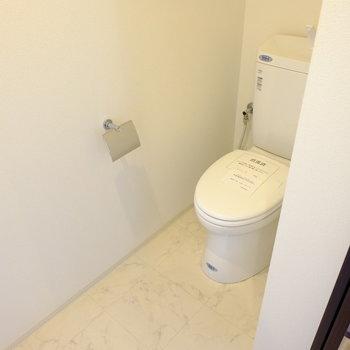 トイレは古いですが広いです!