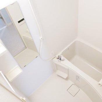 浴室乾燥機付きで雨の日に助かります。