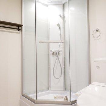 シャワールームがリッチ!※前回募集時の写真