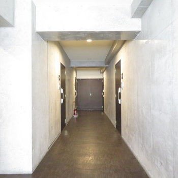 廊下からかっこいいですもん