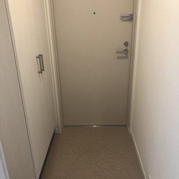 玄関はこれくらいで充分ですね。