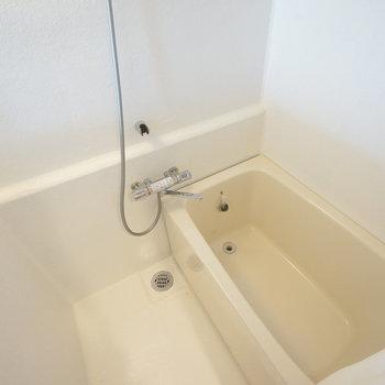 お風呂になってます