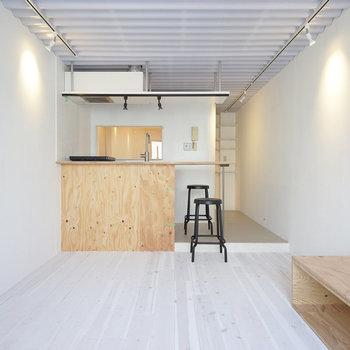 無垢に白塗装した床が◎※写真は前回募集時のものです