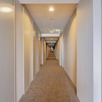共用部ホテルみたい。