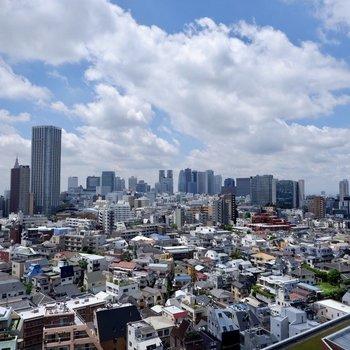 眺める新宿