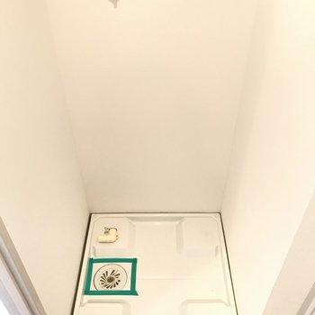 室内洗濯機置き場もしっかりと!