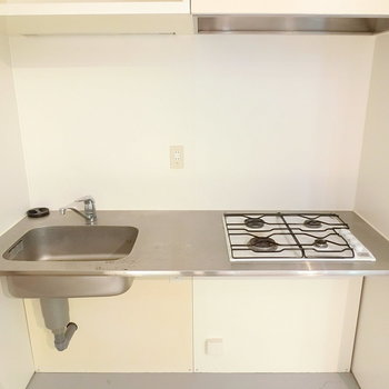 4口ガスコンロの軽やかキッチン※写真は前回募集時のものです