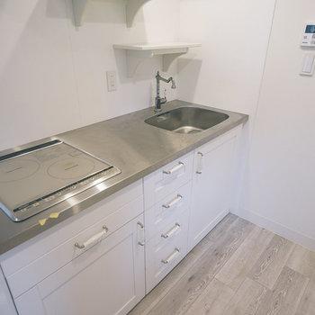 キッチンはIH2口ガス!