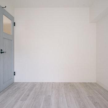 ドアが可愛い!