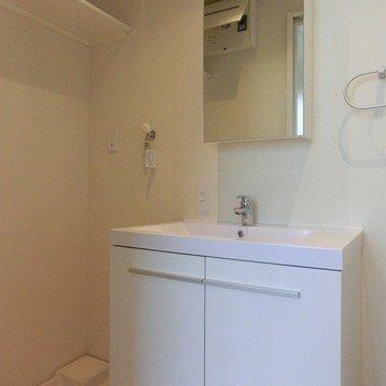 洗面台とトイレは同室です。※写真は前回募集時のものです。
