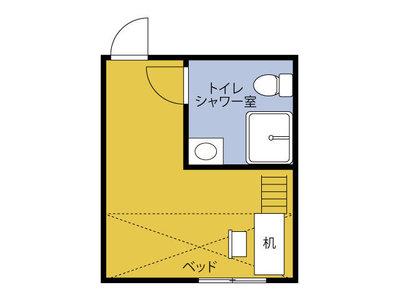 横浜カレッジハイツKIKUNA の間取り