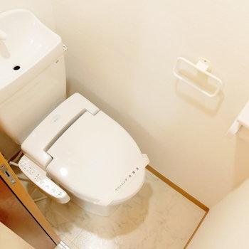 トイレも新品!ウォシュレット付き!