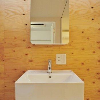 シンプルカッコいい洗面台と。※写真は前回募集時のものです。
