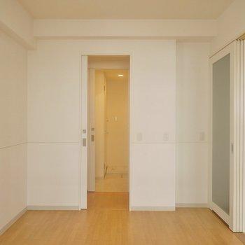 バルコニー側からパシャ。※写真は、同タイプの2階部分。