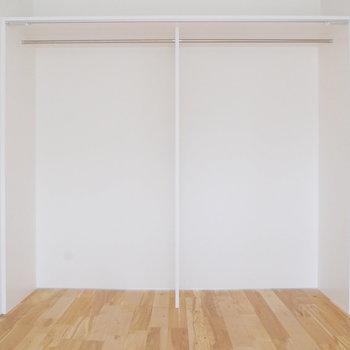 【3階】こちらの壁はオープン収納に。※写真は前回募集時のものです