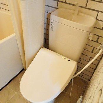 トイレもまだまだ綺麗。※写真は、前回撮影時のもの