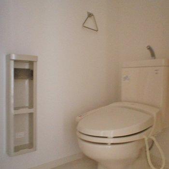 お手洗いは1階です