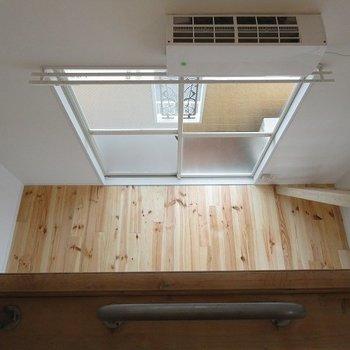 【似た間取りの別部屋】天井高は4メートル!