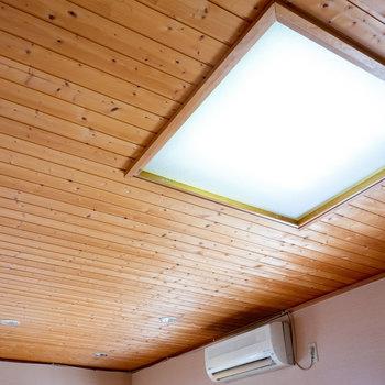【LDK】天井の照明も良いですね。