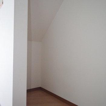 階段下も収納に!