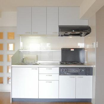 機能的なキッチン! ※クリーニング前の写真です